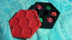 Дайсбокс на 7 дайсов(игральных кубиков)
